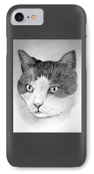 IPhone Case featuring the drawing Big Boy Baily by John Stuart Webbstock