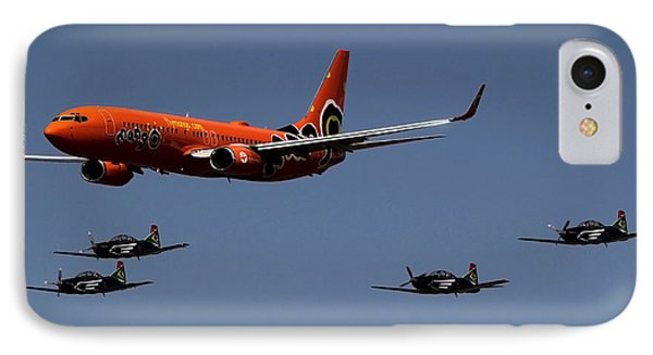 Big Brother Fly Pass IPhone Case by Sean Presher-Hughes