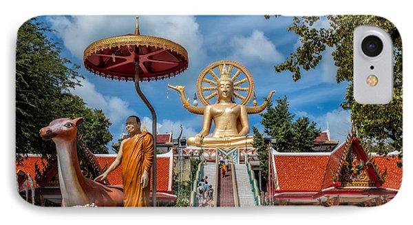 Big Buddha Temple IPhone Case