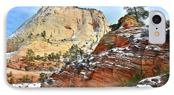 Big Butte II IPhone Case by Ray Mathis