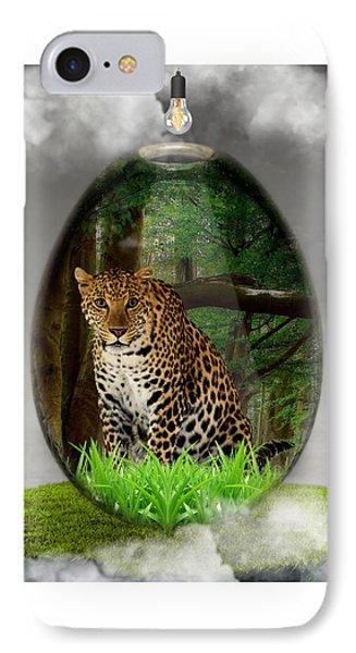 Big Cat Leopard Art IPhone Case