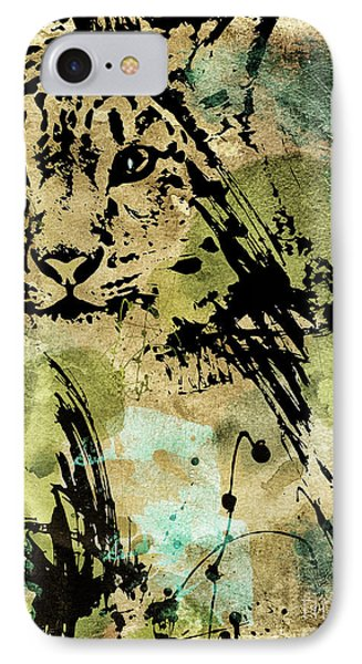 Big Cat IPhone Case by Mindy Sommers