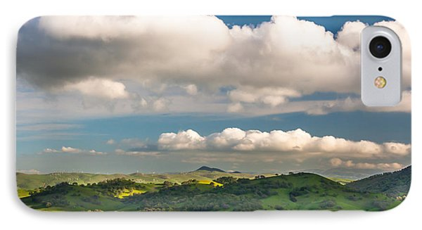 Big Clouds Over The Round Valley IPhone Case by Marc Crumpler