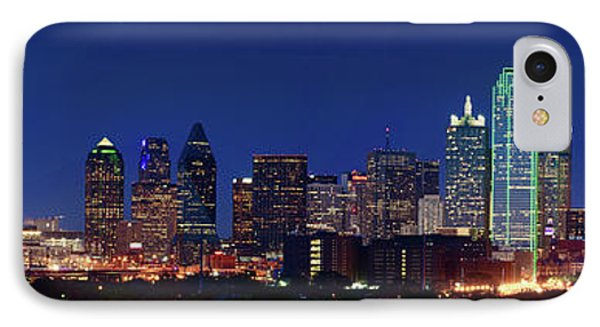 Big D Pano 61316 IPhone Case by Rospotte Photography