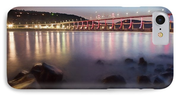Big Dam Bridge IPhone Case by Jonas Wingfield