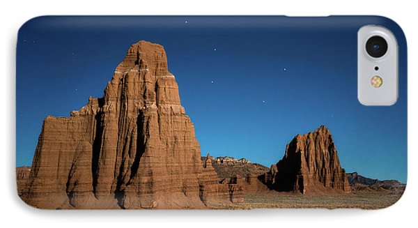 Big Dipper Over Capitol Reef National Park IPhone Case by James Udall