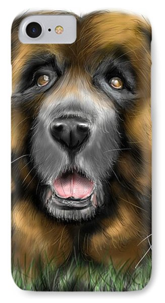 Big Dog IPhone Case by Darren Cannell