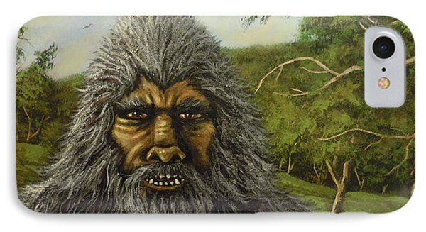 Big Foot In Pennsylvania IPhone Case by James Guentner