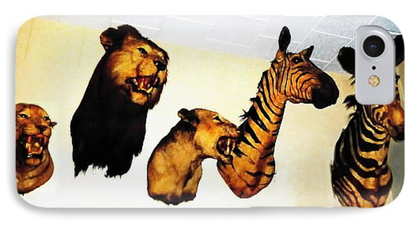 Big Game Africa - Zebras And Lions IPhone Case by Sadie Reneau