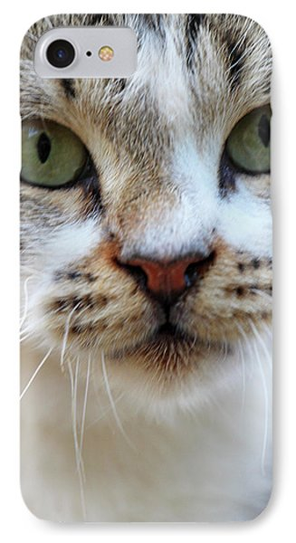 IPhone Case featuring the photograph Big Green Eyes by Munir Alawi