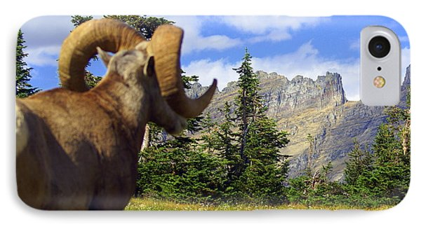 Big Horn 3 Phone Case by Marty Koch