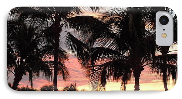 Big Island Sunset 1 IPhone Case by Karen J Shine