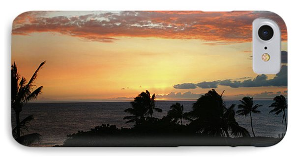 IPhone Case featuring the photograph Big Island Sunset by Anthony Jones