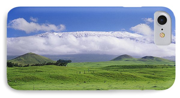 Big Island, Waimea Phone Case by Peter French - Printscapes