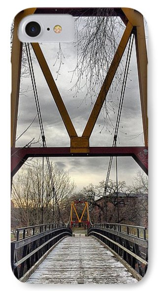 Big M Bridge IPhone Case