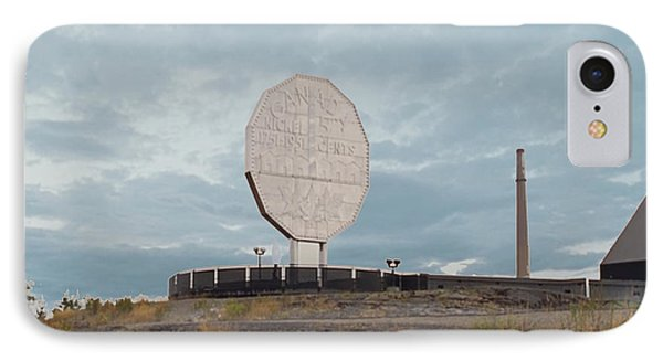 Big Nickel Built In 1964 Cost Cad35000 At That Time Sudbury And Copper Cliff IPhone Case