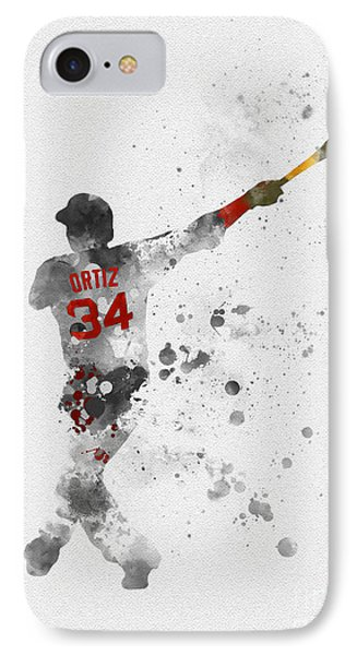 Big Papi IPhone Case by Rebecca Jenkins