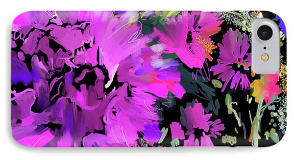 Big Pink Flower IPhone Case by DC Langer