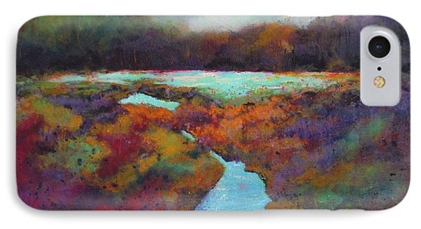 Big Pond In Fall Mc Cormick Woods Phone Case by Marti Green