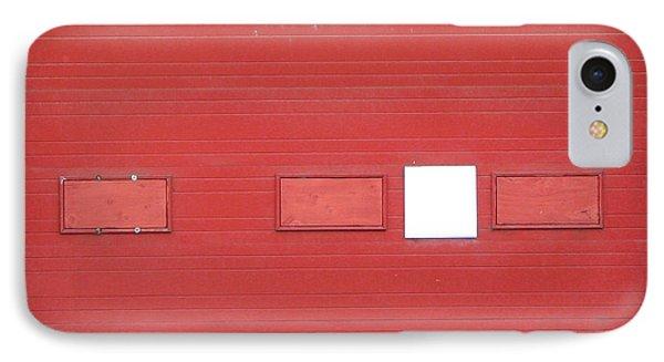 Big Red Door With Accent IPhone Case