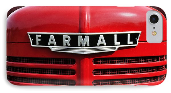Big Red Farmall IPhone Case
