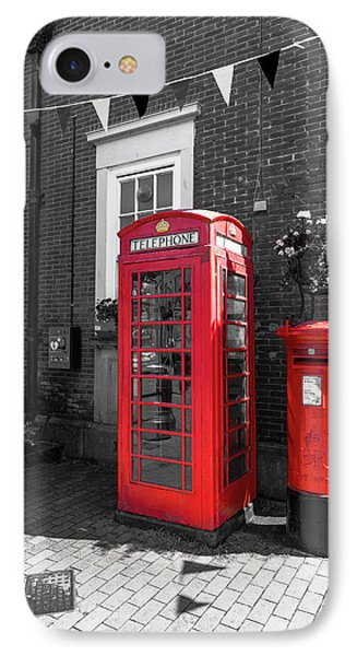 IPhone Case featuring the photograph Big Red Little Red by Scott Carruthers