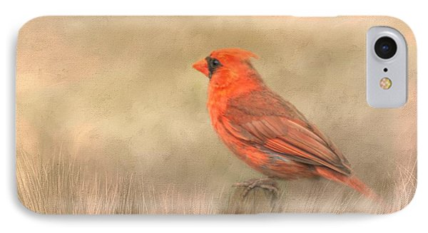IPhone Case featuring the mixed media Big Red by Steven Richardson