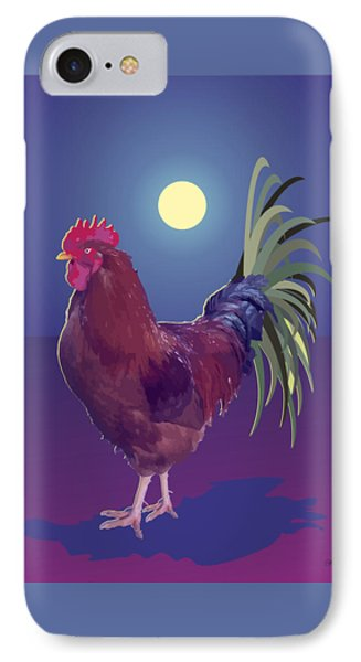 Big Rooster IPhone Case