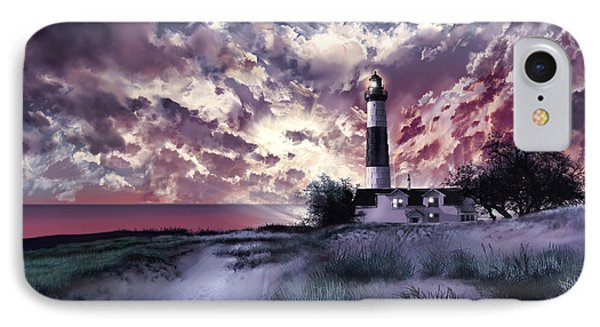 Big Sable Lighthouse 2 IPhone Case