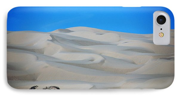 Big Sand Dunes In Ca Phone Case by Susanne Van Hulst