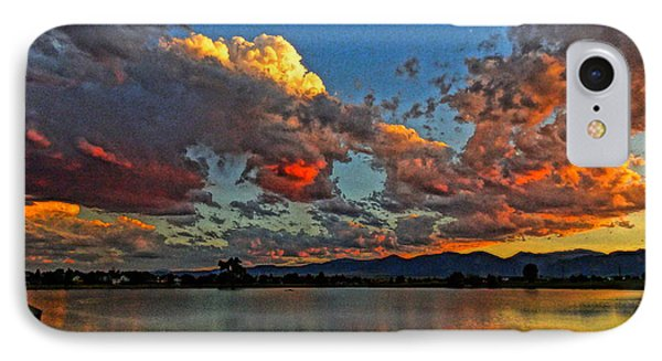 IPhone Case featuring the photograph Big Sky by Eric Dee