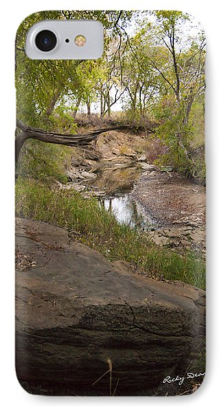 Big Stone Creek IPhone Case by Ricky Dean