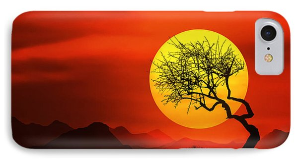 Big Sunset IPhone Case by Bess Hamiti