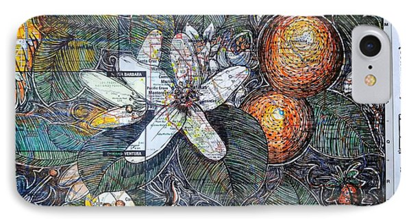 Big Sur And The Oranges Of Hieronymus Bosh IPhone Case by John Parish
