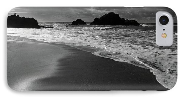 Big Sur Black And White Phone Case by Pierre Leclerc Photography