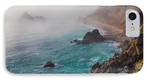 Big Sur Coastal Fog IPhone Case by Garry Gay