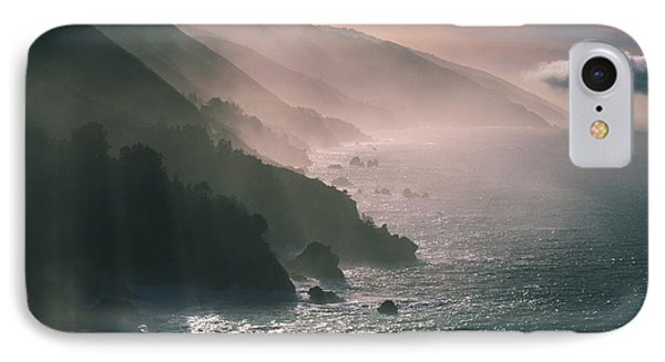 Big Sur Coastline Ca Usa IPhone Case by Panoramic Images