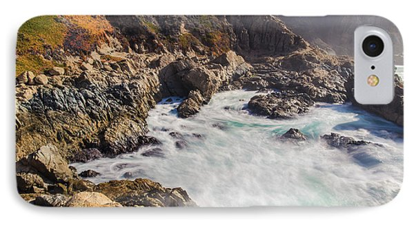IPhone Case featuring the photograph Big Sur Coastline View Point by Jingjits Photography