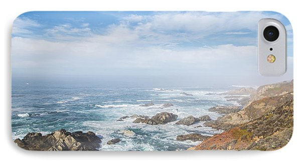 IPhone Case featuring the photograph Big Sur Sea View by Jingjits Photography
