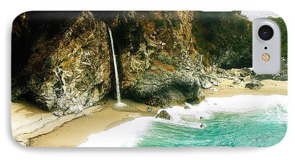 Big Sur Waterfall Phone Case by Jerome Stumphauzer