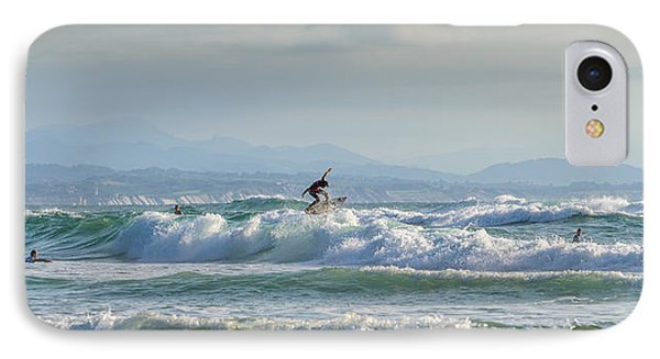 IPhone Case featuring the photograph Big Surf Invitational I by Thierry Bouriat