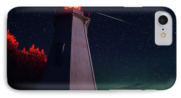 Big Tub Shooting Star IPhone Case by Cale Best