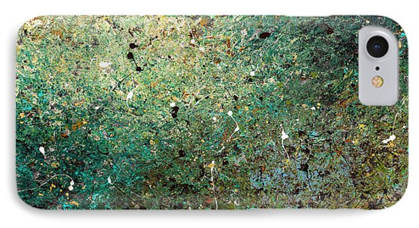 IPhone Case featuring the painting Big Universe - Abstract Art by Carmen Guedez