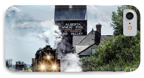Big Valley Steam IPhone Case by Brad Allen Fine Art
