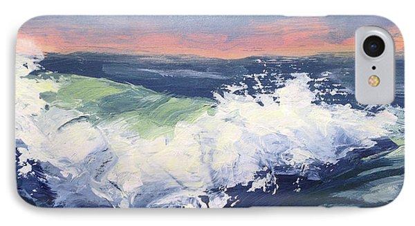 Big Wave #1 Phone Case by Mary Byrom