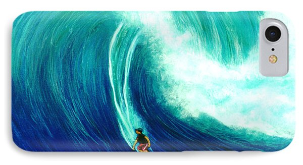 Big Wave North Shore Oahu #285 Phone Case by Donald k Hall