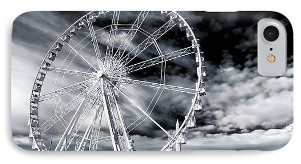 Big Wheel In Paris Phone Case by John Rizzuto