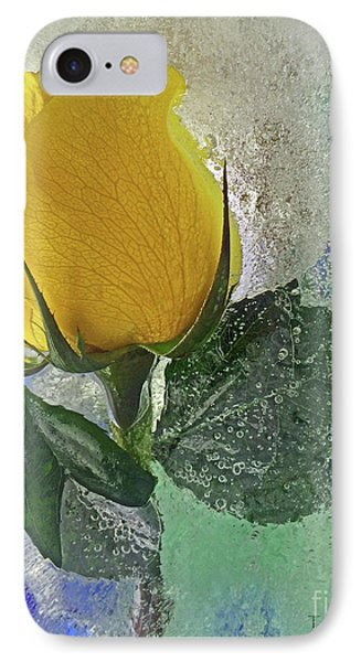 Big Yellow IPhone Case by Terry Foster