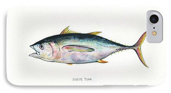 Bigeye Tuna IPhone Case by Juan Bosco
