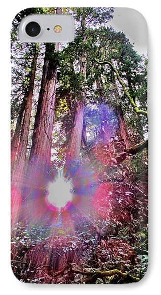 Bigfoot Into The Light IPhone Case